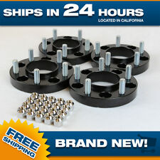 4 Black Jeep Grand Cherokee hubcentric Wheel Spacers Adapters for JK WJ WK WK2