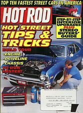 Hot Rod Magazine February 1995 Street Tips & Tricks / Stereo Buyers Guide
