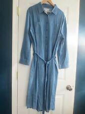 Women's 1 X Denim Weekender Dress  NEW! Button down