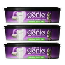 Litter Genie Cat Litter Disposal System REFILL CARTRIDGE - 3 pack