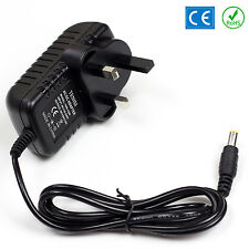 12v Ac Dc Power Supply Para Yamaha psr-550 Teclado Enchufe Adaptador PSU Reino Unido Cable 2a
