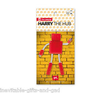 Harry the Robot USB Hub Gadget Gift Red