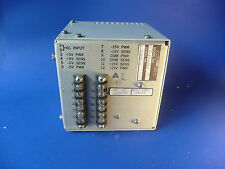 SYSTRON DONNER MILITARY POWER SUPPLY 3X-S-6081 ARMY10667849 6130-00-432-1350
