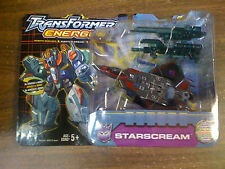Transformers Energon Starscream Figure Black Card NEW FREE SHIP US