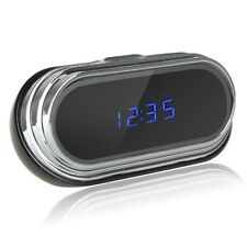 HD 1080P Clock with Hidden Spy Surveillance Camera DVR Support Motion Detect