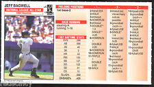 Jeff Bagwell 1997 Strat-O-Matic All Star Baseball Card 5 of 62 Houston Astros