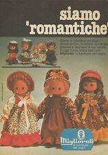 X7564 Bambole del buon tempo antico - Migliorati - Pubblicità 1977 - Vintage Adv
