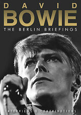 DAVID BOWIE New Sealed 2017 BERLIN INTERVIEWS & MORE DVD