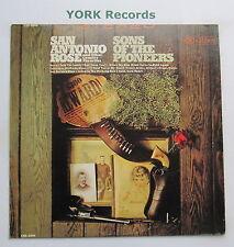 SONS OF THE PIONEERS  - San Antonio Rose - Ex Con LP Record RCA Camden CAS 2205