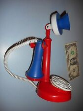Vintage Handi-Craft Co. Red, White, and Blue Candlestick Telephone Phone