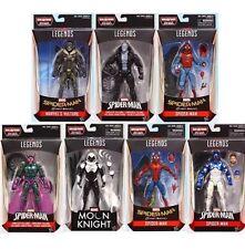 Marvel Legends Spider Man Homecoming Set Of Seven Vulture Baf Presale