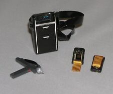 1:6 scale Miniature Star Trek Tricorder Communicator Phaser fit Barbie Ken OoP