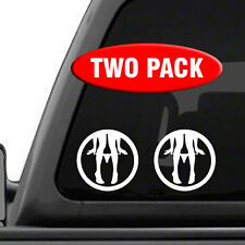Panty Dropper Decal - 2 Pack - Vinyl Sticker Car Window Truck Funny Joke