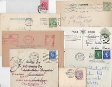 * 1892/1959 11 x CAMBRIDGE POSTAL HISTORY POSTMARKS COVERS CARDS DUPLEX METER