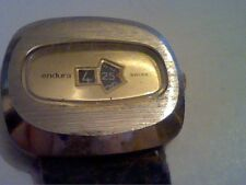 VINTAGE BIG ENDURA JUMP HOUR WINDUP WATCH 4U2FIX