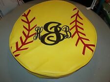 Jeep Tire Cover Yellow Soft Ball Monogram