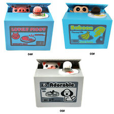 Chatora Mischief Panda Cat  Automated Steal Coin Savings Box Piggy Bank Funny