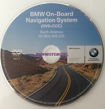 2008 BMW 528i 528xi 535i 535xi 550i Navigation DVD CCC OEM Map Edition 2007.2