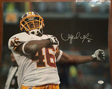 Alfred Morris AUTOGRAPHED Washington Redskins 16x20 Photo JSA Witness Cert COA