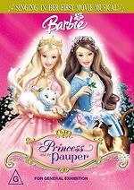 Barbie: The Princess and the Pauper * NEW DVD *