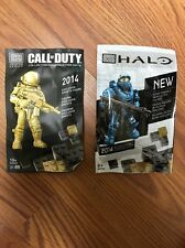 SDCC 2014 Mega Blocks Halo & Call of Duty MINI FIGURES EXCL. GHOSTS FIGURE