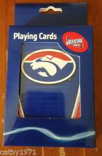 NEW Western Bulldogs AFL Footy Team Pack of Cards - Free Post