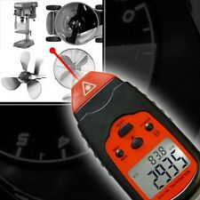 DIGITAL LASER TACHOMETER METER BRUSHLESS MOTOR RPM TACHO SPEED MODELING RC DZ1