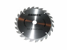 Mitre Saw Circular Saw Blade Ø185mm xØ20mm Mounting Diameter 24Teeth Woodworking