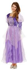 Ladies Rapunzel Purple Princess Fairy Tale Fancy Dress Costume Outfit 8-12