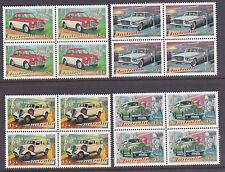 1997 Australia's Classic Cars - MUH Blocks of 4