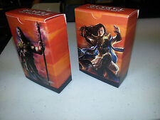 Sarkhan // Narset BOTH 60 Card Deck Boxes Dragons of Tarkir  MTG Fat Pack Insert