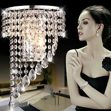 Modern Luxury K9 Crystal LED Wall Lights Wall Sconce Hallway Stairs Hotels Lamp
