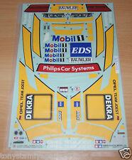 Tamiya 58150 Opel Calibra V6 DTM/TA02, 9494152/119494152/*9495207 Decals, NIP
