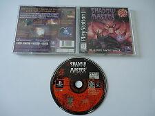 Shadow Master [Sony Playstation 1] PSX PS1 Complete in Box