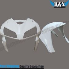 Unpainted Front Fairing Nose Head & Fender For HONDA CBR600RR 2005 2006 05 06