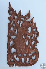 Vintage Hand Carved Burmese Wood Dancer.