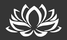 Lotus Flower - Die Cut Vinyl Window Decal/Sticker for Car/Truck