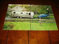 2003 VW VOLKSWAGEN AIRSTREAM TRAILER  ***ORIGINAL 2 PAGE AD***