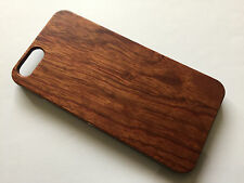 Apple iphone 6 6s 4.7 hard back real wood case wooden cover brown wooden oak