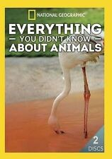 Everything You Didnt Know About Animals  DVD NEW