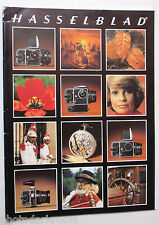 Hasselblad Camera System Sales Brochure Pamphlet Book - 1980 English - USED B69