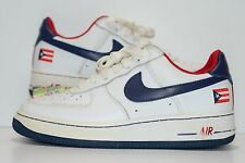 2005 Nike Air Force 1 PUERTO RICO 6 VI 306353-146 RARE Size 6Y or Womens 7.5 htm