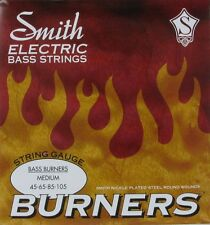 KEN SMITH BBM BASS BURNERS NICKEL PLATED BASS STRINGS, MEDIUM GAUGE 4's - 45-105