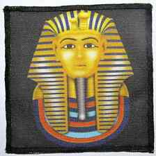 KING TUT - Ancient Egyptian Bad Guy - Printed Patch - Sew On - Vest, Bag,Jacket!
