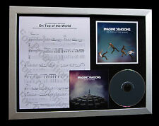 IMAGINE DRAGONS Top Of World CD QUALITY MUSIC FRAMED DISPLAY+EXPRESS GLOBAL SHIP