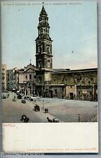 NAPOLI Chiesa  e Convento Carmine ove fu assassinato Masaniello PC Circa 1900