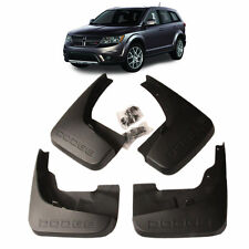4pcs Front + Rear Mud Flaps Splash Guards Fit For 2011-2016 Dodge JCUV