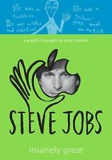 Steve Jobs : Insanely Great by Jessie Hartland (2015, Hardcover)