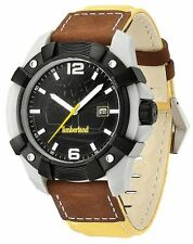 Timberland Chocorua Mens Date Display Watch 13326JPGYB/02  Leather & Nylon Strap