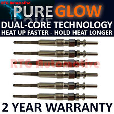 6X FOR BMW 5 SERIES E60 E61 525 530 530 2.5 3.0 DIESEL HEATER GLOW PLUGS GP54706
